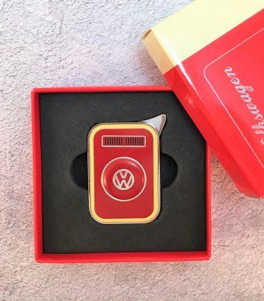 VW-Feuerzeug-T2-rot-beige