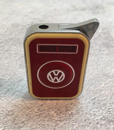 VW-Feuerzeug-T2-rot-beige-Detail-3