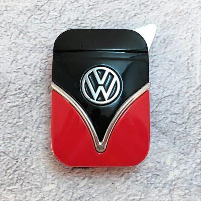 Geschenkset-Feuerzeug-Zigarettenetui-rot-schwarz-Detail-9