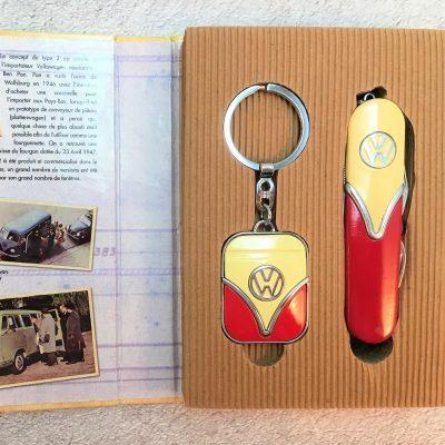 Geschenkset-Schlüsselanhänger-Taschenmesser-rot-beige-Detail-7