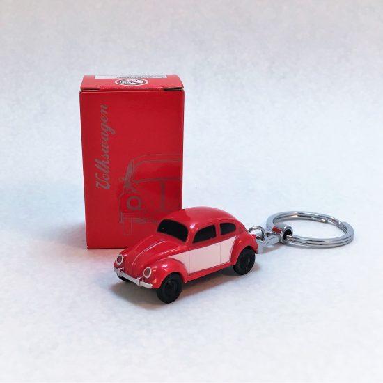 Schlüsselanhänger-Käfer-rot