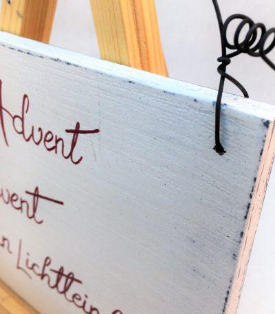 Holzschild-Advent,-Advent,-ein...-Detail-11