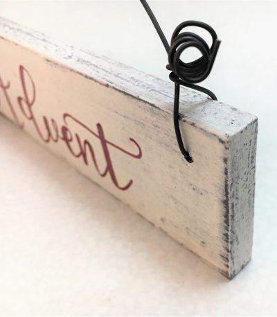 Holzschild-Advent-Detail-3