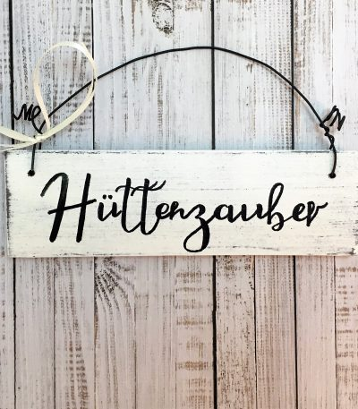 Holzschild-Hüttenzauber-Detail-4