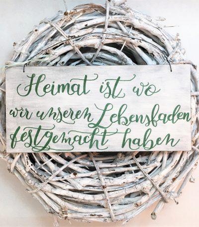 Holzschild-Heimat-Lebensfaden-Detail-2
