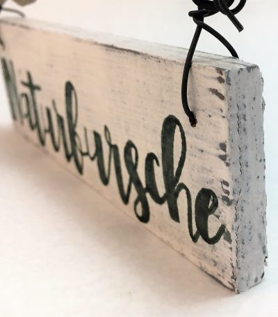 Holzschild-Naturbursche-Detail-2