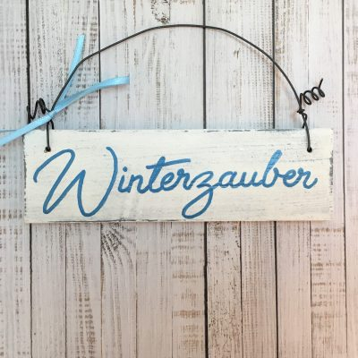 Holzschild-Winterzauber-Detail-4
