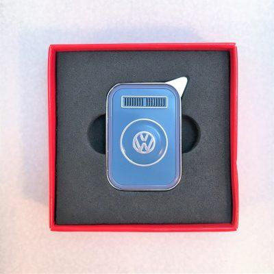 VW-Feuerzeug-T2-blau-grau-Detail-2