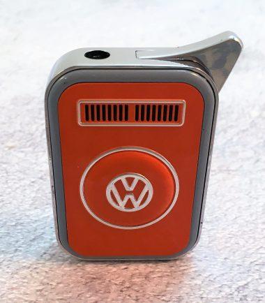VW-Feuerzeug-T2-orange-grau-Detail-3