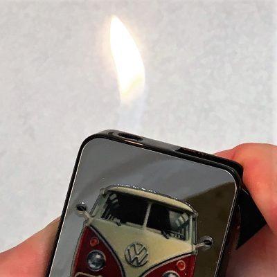 Geschenkset-Feuerzeug-Kugelschreiber-rot-beige-Detail-10