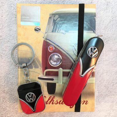 Geschenkset-Schlüsselanhänger-Taschenmesser-rot-schwarz-Detail-9