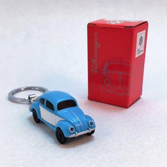 Schlüsselanhänger-Käfer-blau