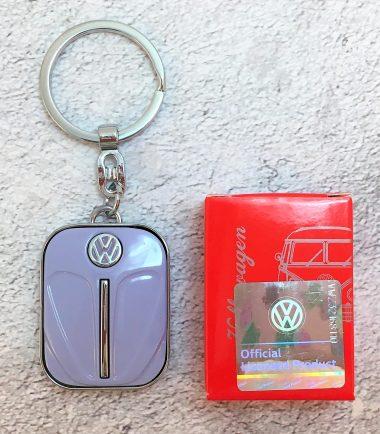 VW-Schlüsselanhänger-Käfer-lila-Detail-4