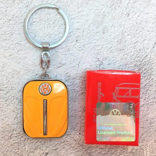 VW-Schlüsselanhänger-Käfer-orange-Detail-4