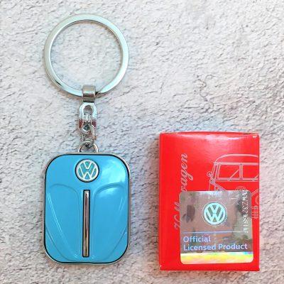 VW-Schlüsselanhänger-Käfer-türkis-Detail-4