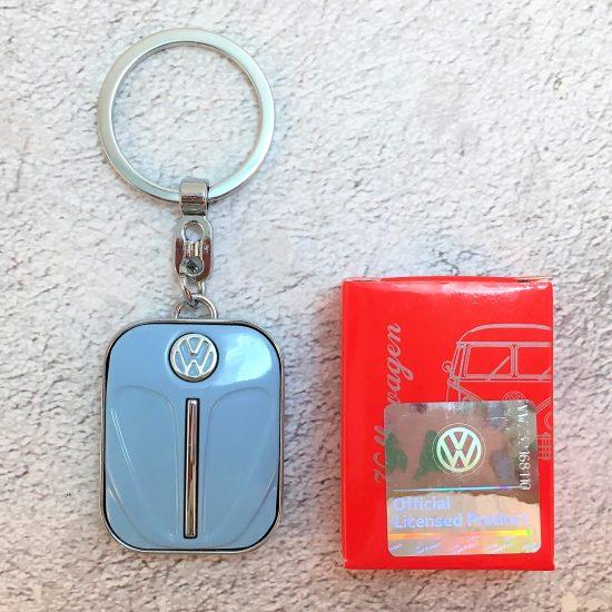 VW-Schlüsselanhänger-Käfer-taubenblau-Detail-4