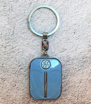 VW-Schlüsselanhänger-Käfer-taubenblau-Detail-5