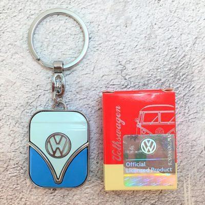 VW-Schlüsselanhänger-Samba-blau-hellblau-Detail-1