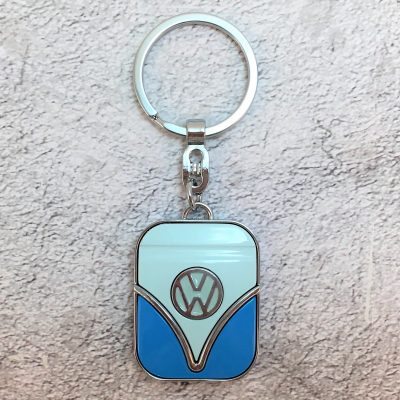 VW-Schlüsselanhänger-Samba-blau-hellblau