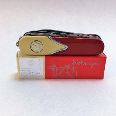 VW-Taschenmesser-rot-beige