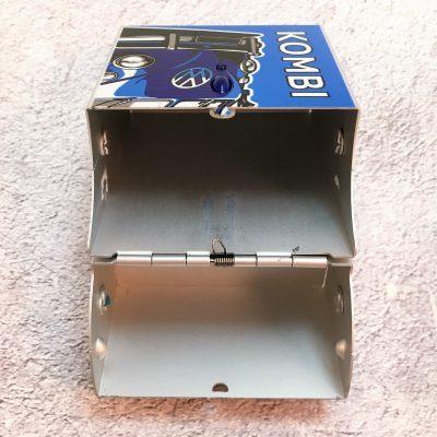 VW-Zigarettenbox-Alu-Bus-blau-Detail-1