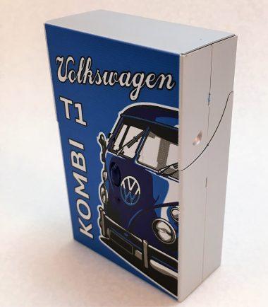 VW-Zigarettenbox-Alu-Bus-blau-Detail-5