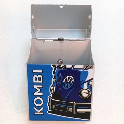 VW-Zigarettenbox-Alu-Bus-blau-Detail-7