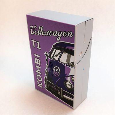 VW-Zigarettenbox-Alu-Bus-lila-Detail-5