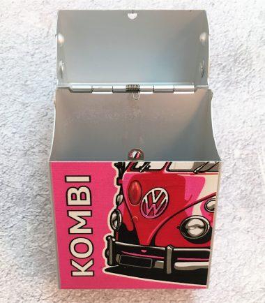 VW-Zigarettenbox-Alu-Bus-pink-Detail-1