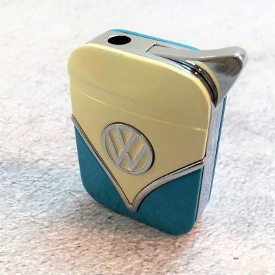 VW-Feuerzeug-Samba-blau-beige-Detail-5