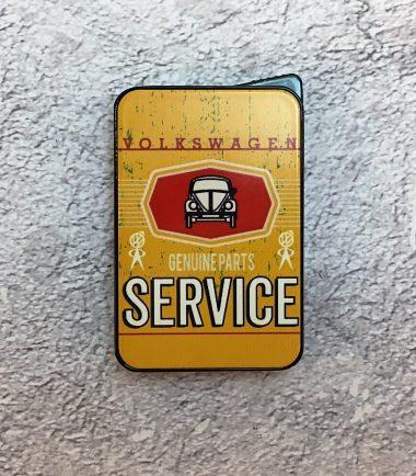 VW-Feuerzeug-Service-Käfer-gelb-Detail-10