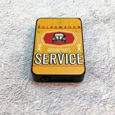 VW-Feuerzeug-Service-Käfer-gelb-Detail-11