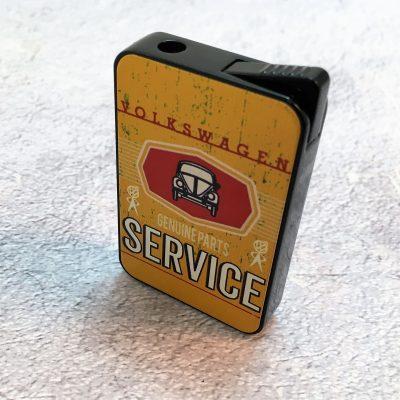VW-Feuerzeug-Service-Käfer-gelb-Detail-13