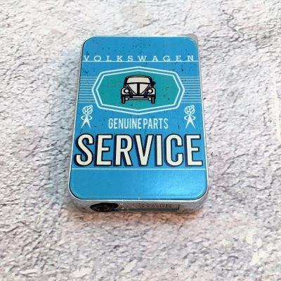 VW-Feuerzeug-Service-Käfer-hellblau-Detail-10
