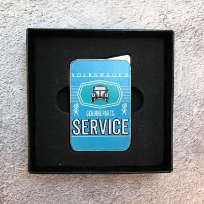 VW-Feuerzeug-Service-Käfer-hellblau-Detail-8