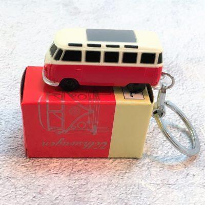 VW-Schlüsselanhänger-Bulli-rot
