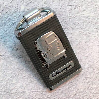 VW-Schlüsselanhänger-Bus-Metall-schwarz-Detail-1