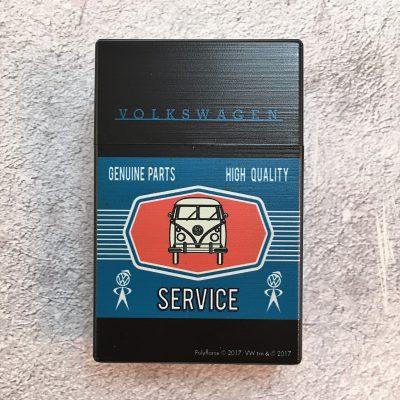 VW-Zigarettenbox-Service-Bus-schwarz-blau-Detail-1