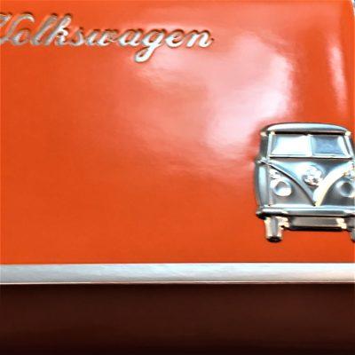 VW-Zigarettenetui-Bus-Metall-orange-braun-Detail-8