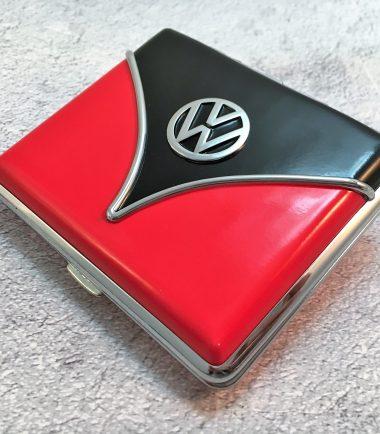 VW-Zigarettenetui-Samba-rot-schwarz-Detail-6